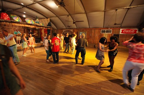 photo of the dance floor taken by andrew