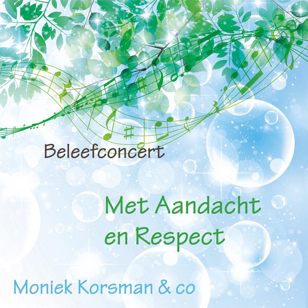 """Door op deze link te klikken kom je bij de CD van het beleefconcert """"Met Aandacht en Respect"""" zoals ook beschreven in het boek """"Zingen, Kracht van Verbinding""""."""