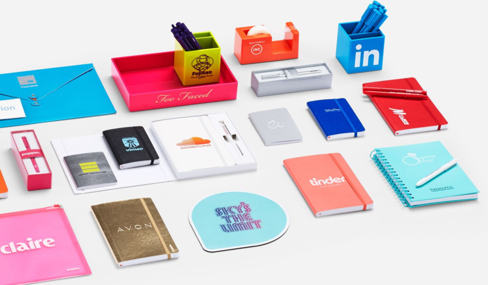 From startups to Fortune 500's, companies rely on Poppin for exceptional branded office products that last forever...and arrive in under two weeks. Choose from 300+ products in a range of colors. Learn more about custom Poppin here.