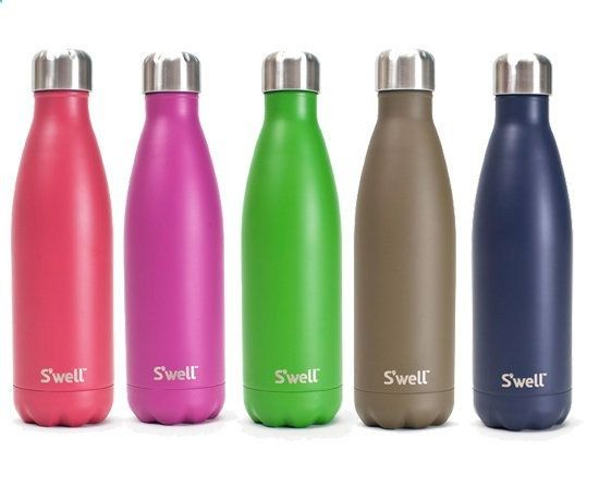 S'well is the only reusable bottle that looks great and does good. It keeps your drinks cold for 24 hours and hot for 12, while giving back to those in need. Learn more about custom S'well bottles  here .