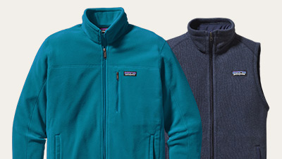 Patagonia offers in-house facilitated screen-printing and embroidery for custom group orders of jackets, vests, and messenger bags. Learn more about custom Patagonia  here .