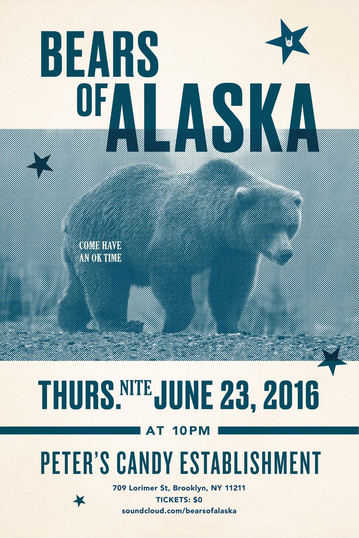 Lauren Peters-Collaer—Bears Poster