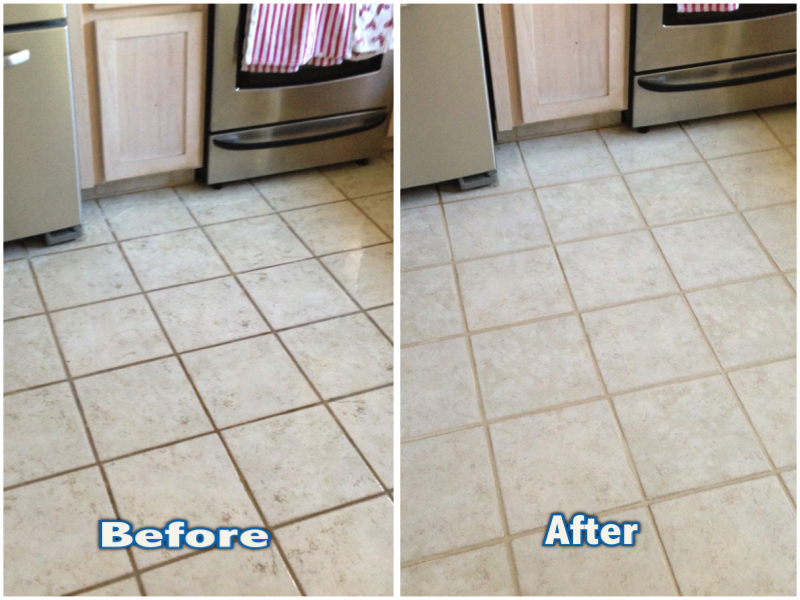 Kitchen Floor Tile And Grout Clean In Sacramento Ca Atr Tile And