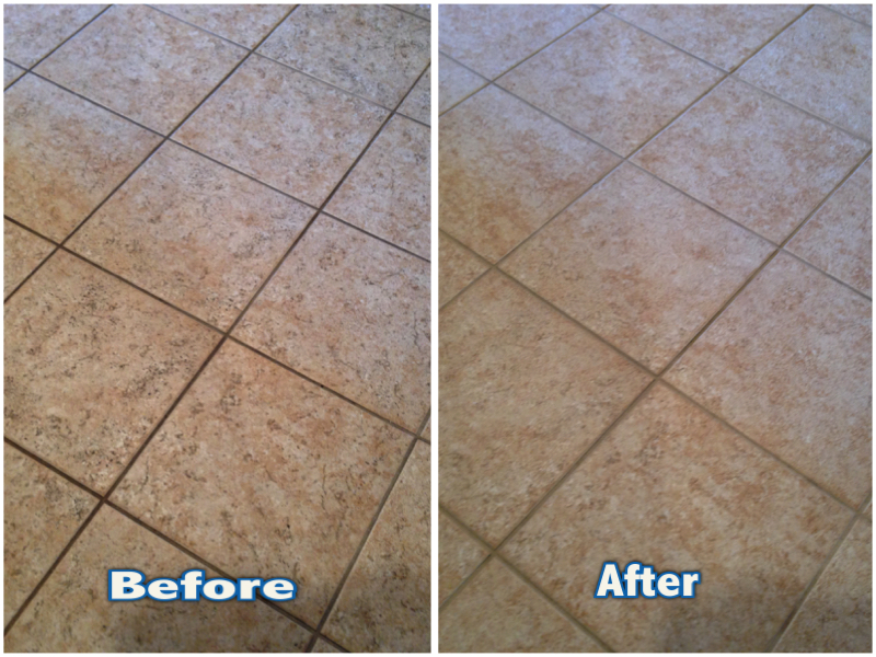 Kitchen Floor Tile And Grout Clean In Arden Park Ca Atr Tile And