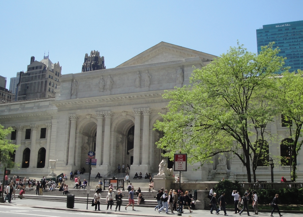 We are conveniently located in Midtown Manhattan one block from the New York Public Library.