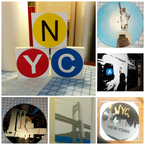 NYC VINYL DREAMS NYC Vinyl Dreams creating NYC themed art from our studio to your home.