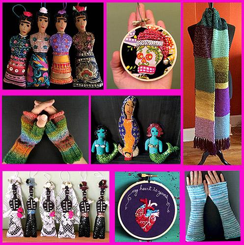 SNAPDRAGON Folk-art inspired, original, eclectic artworks and vibrant knitting