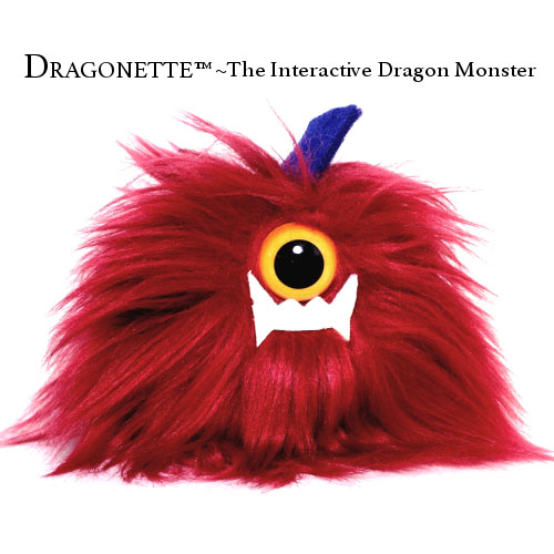 LA MUSE KALLIOPE  DRAGONETTE™ The Interactive Dragon Monster! Artisan crafted products and design concept created to empower and make a positive impact through inspiring plush characters that are your cheerleaders and BFF!