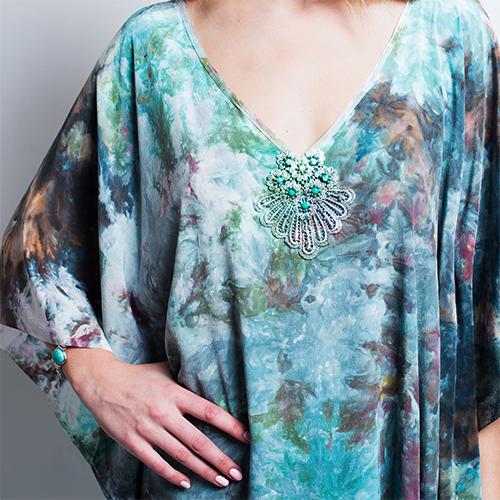 ALYSON RENEE Vivid bohemian clothing, handmade in NYC.