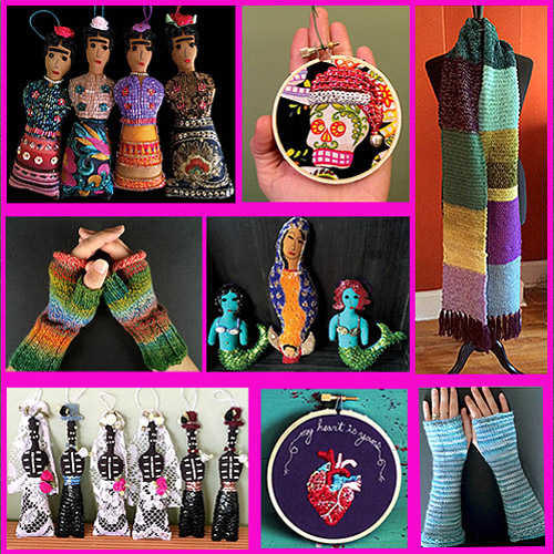 SNAPDRAGON  Folk-art inspired, original, eclectic artworks and vibrant knitting