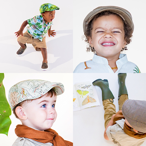 JUNIOR BABY HATTER Distinguish caps for little chaps and dapper dads. Matching father-son hat gift sets handmade with love.