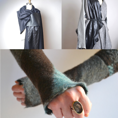 SUNIQ Handmade One-of-a-Kind Up-cycled Clothing and Accessories. Made in Brooklyn, New York.