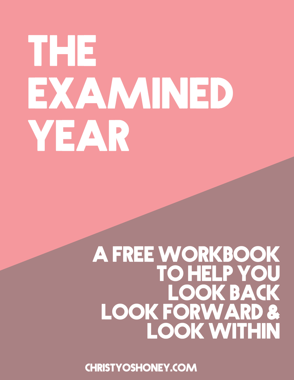 Struggling to process your year? Use this guide to help you look back on your last 365 days, look forward to the days ahead, and look within yourself. Click through to grab your free copy!