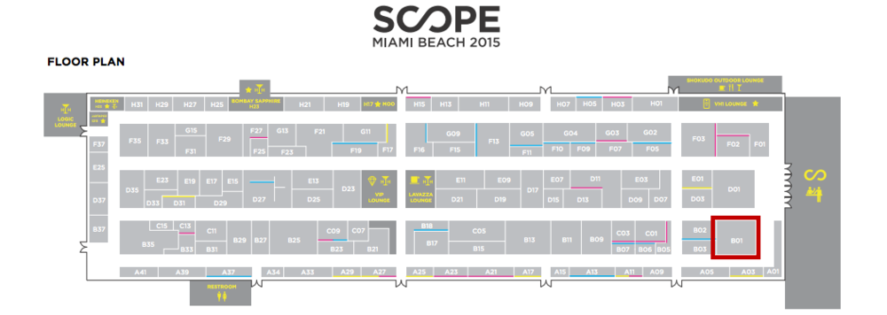 SCOPE INTERNATIONAL ART SHOW | MIAMI BEACH 2015  |  #SCOPE15  | MASSIMO AGOSTINELLI |