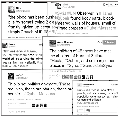 Qubeir Massacre Tweets