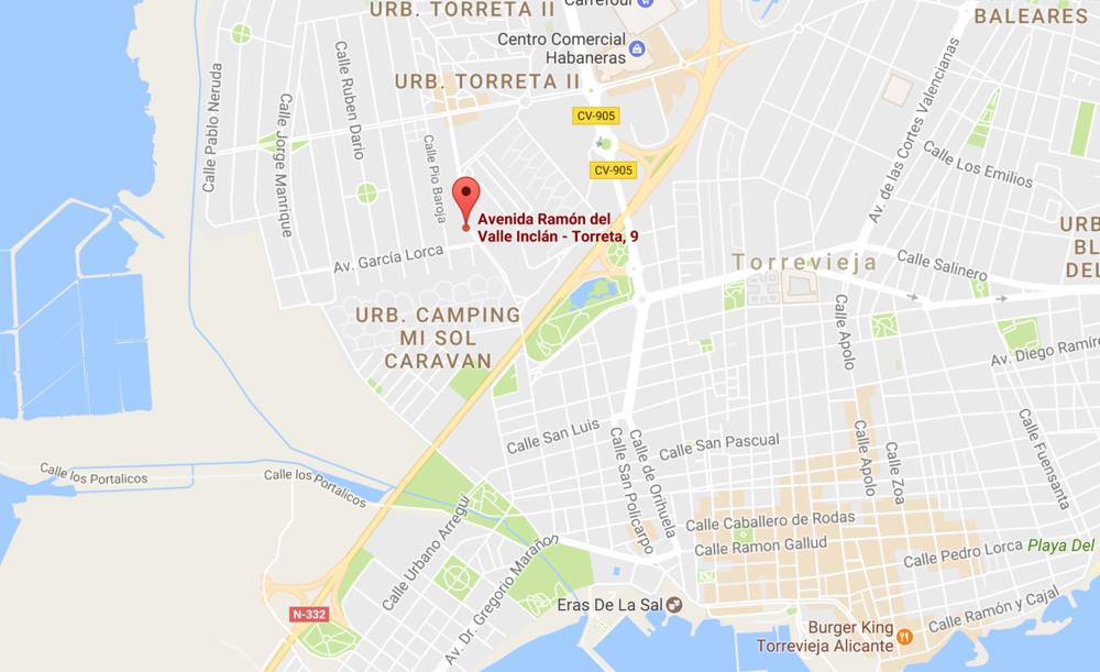 Karta Fran Alicante Till Torrevieja.Modern Villa I Torrevieja 314 000 Hansson Hertzell