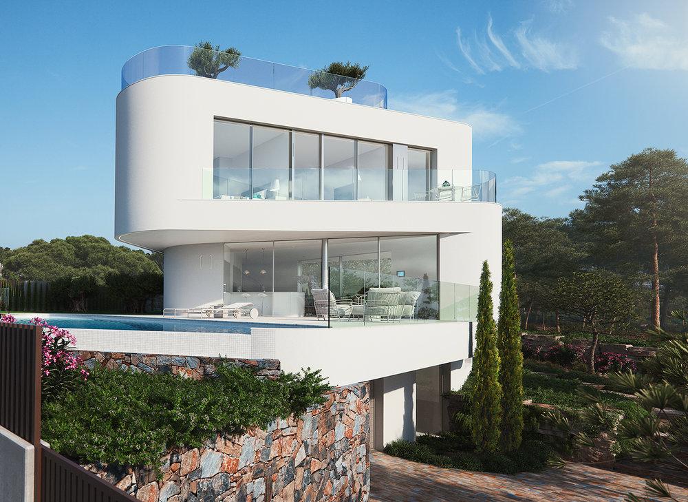 Villa i Finestrat - 1.250.000€