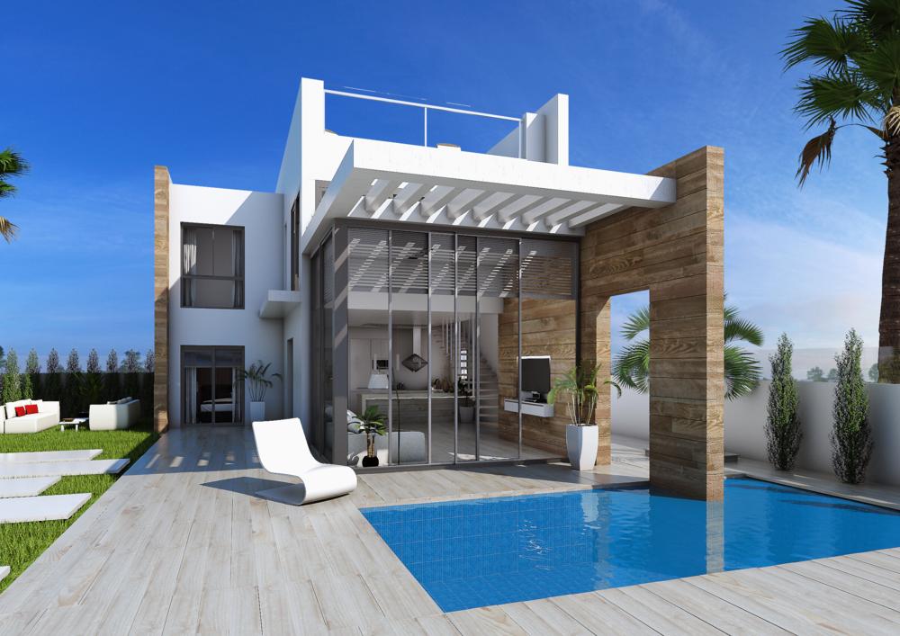 Moderna Villor i Cabo Roig Från: 309.000€