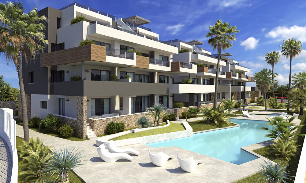 Lägenheter med SPA i Orihuela Costa Från: 139.000€