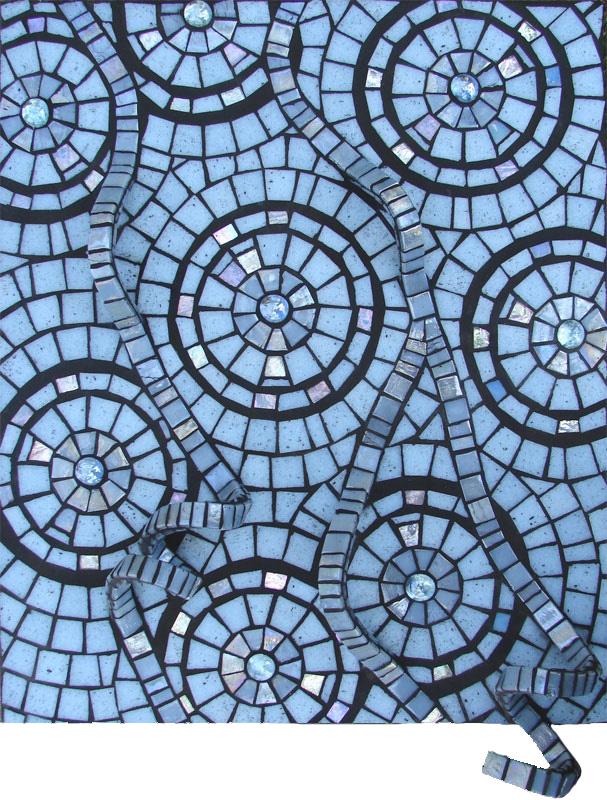 Blue Aspirations Mosaic