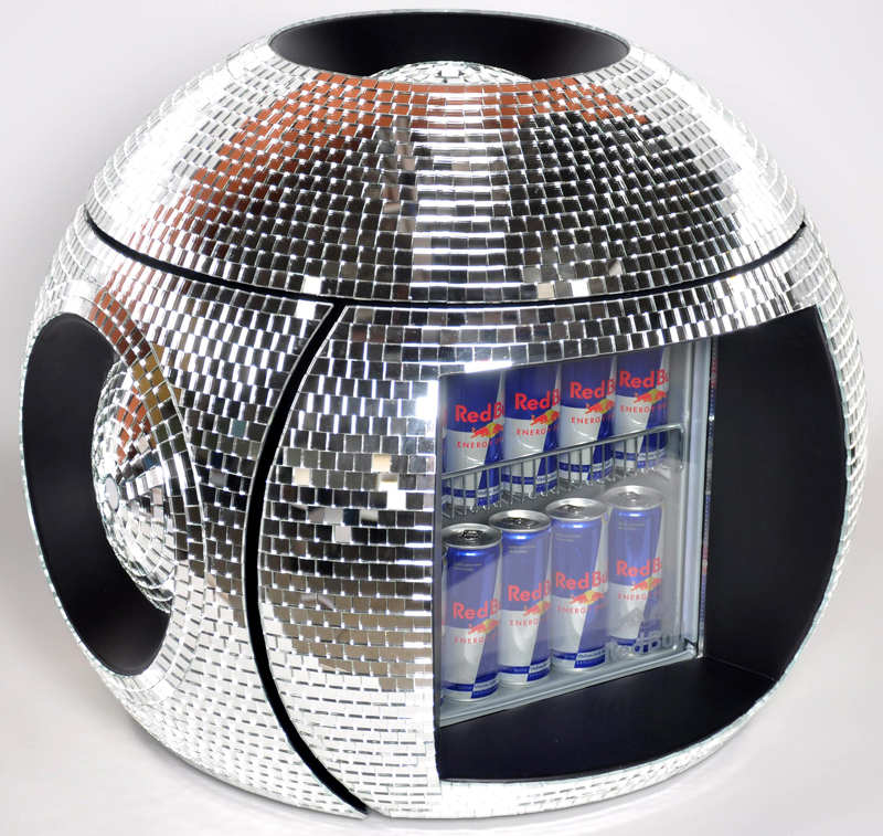 Red Bull Disco Cooler-mosaics