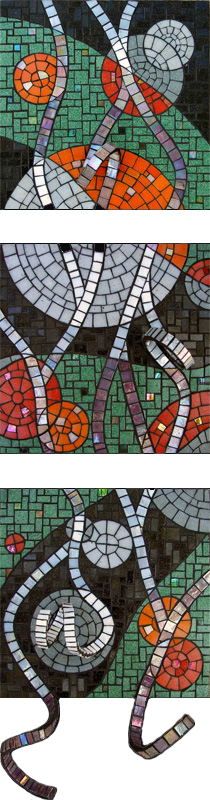 Dyanne Williams Highlights Glass 12 inches x 46 inches