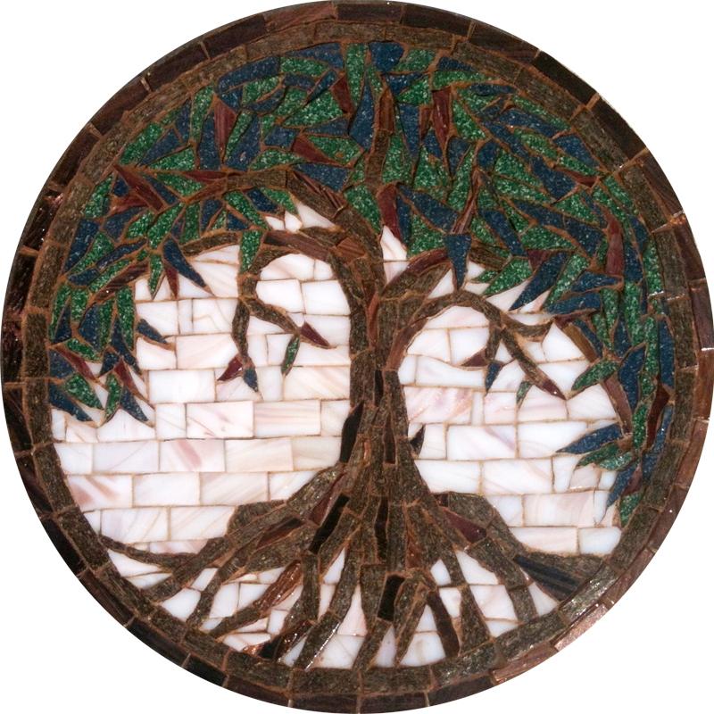 Mini Tree Medallion Mosaic