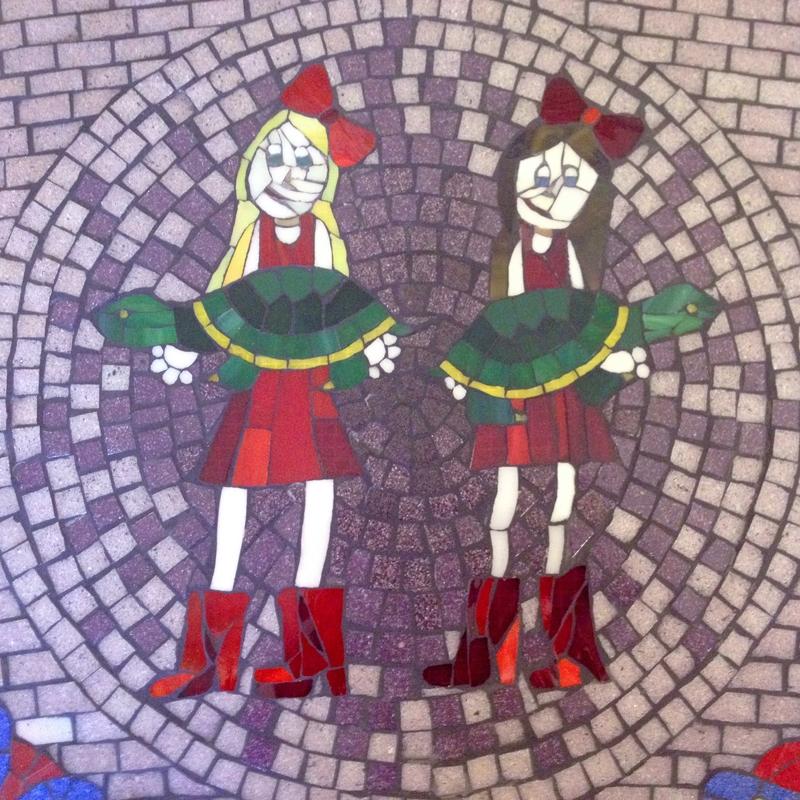 Ashlyns Memorial Mosaic Bench