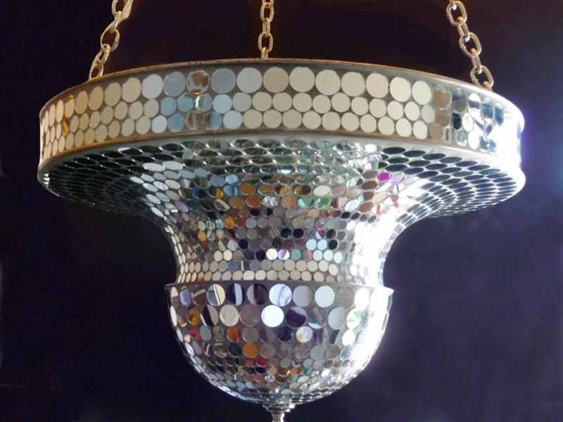 Art Deco Mirrorball Mosaic