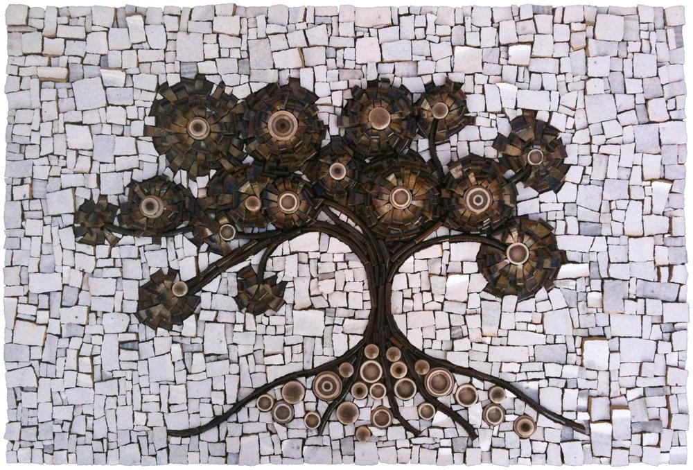 Bodhi Tree Mosaic