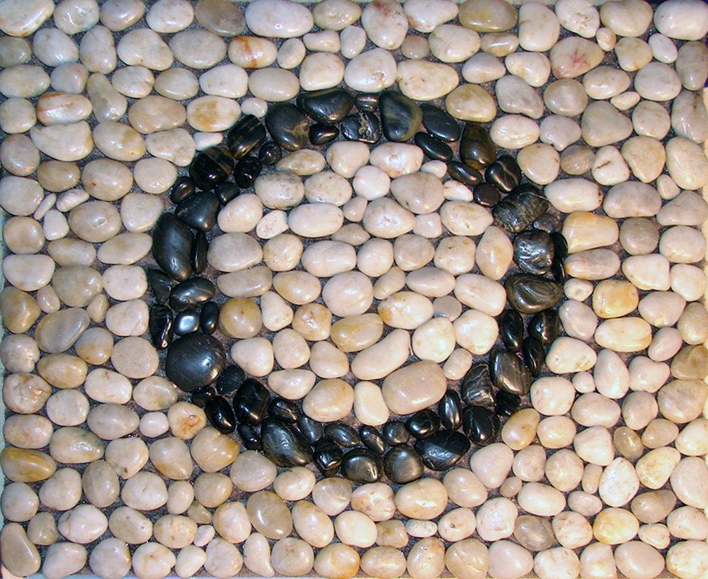 Pebble Mosaic Doormat O