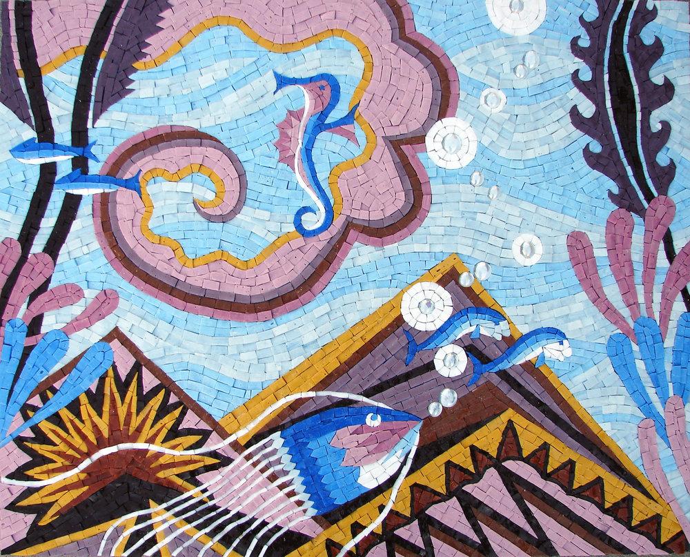 Seascape Mosaic