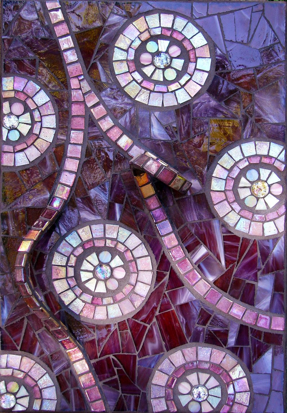 Violet Aspirations Mosaic