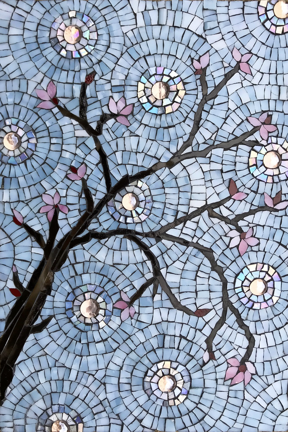 Cherry Blossoms Mosaic