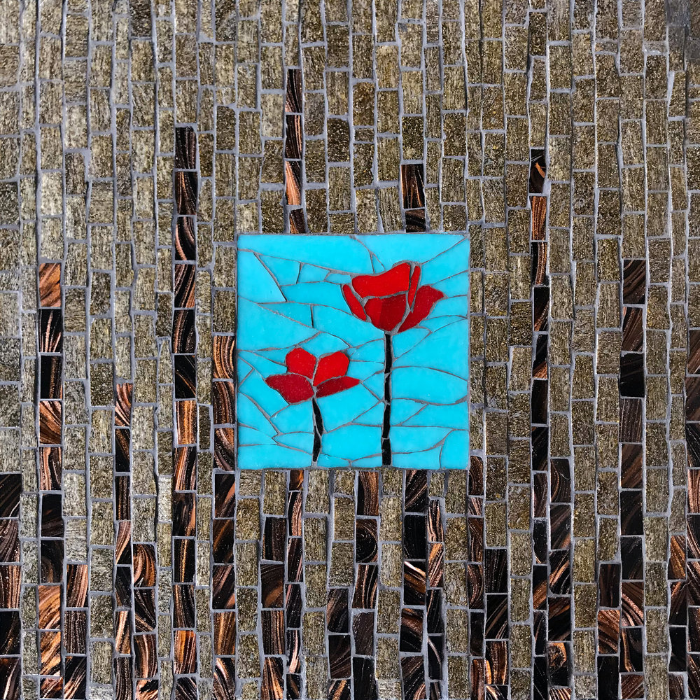 Poppies Zen Mosaic