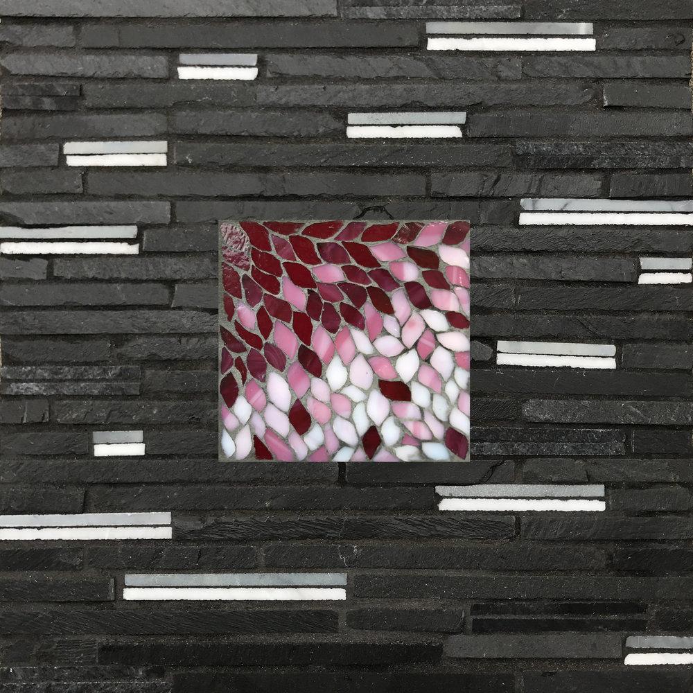 Cherry Blossoms Flutter Mosaic