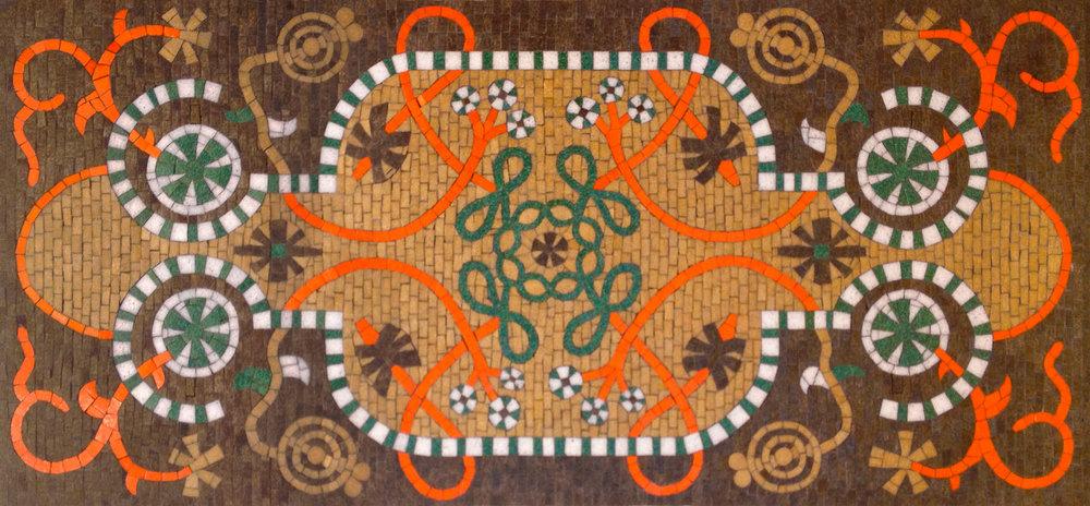 Fireplace Rug Mosaics