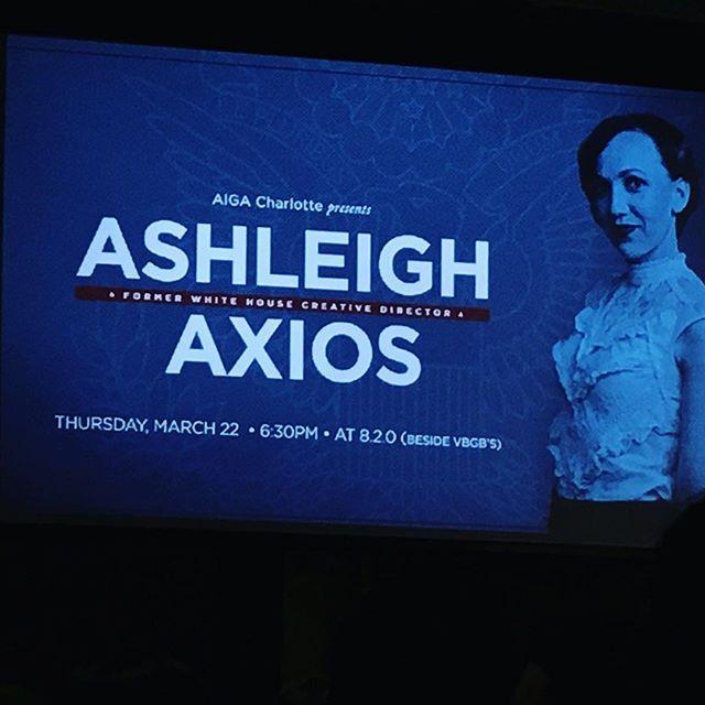 #aigaclt #aiga @aigacharlotte #ashleighaxios #graphicdesign @ashleighaxios