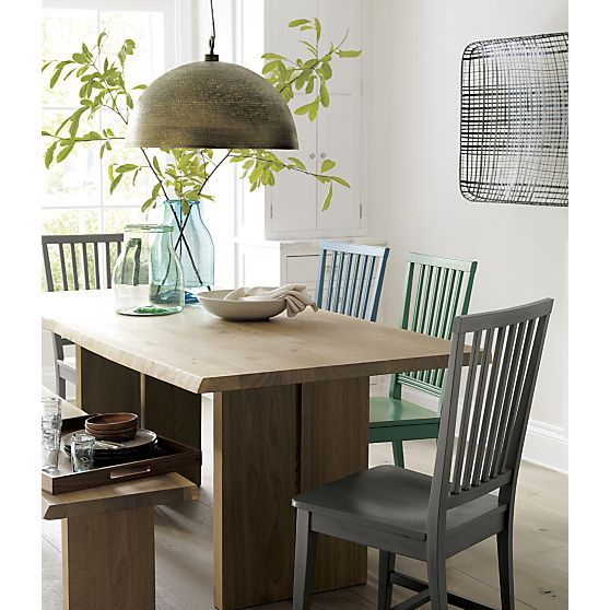 Crate & Barrel Village chairs