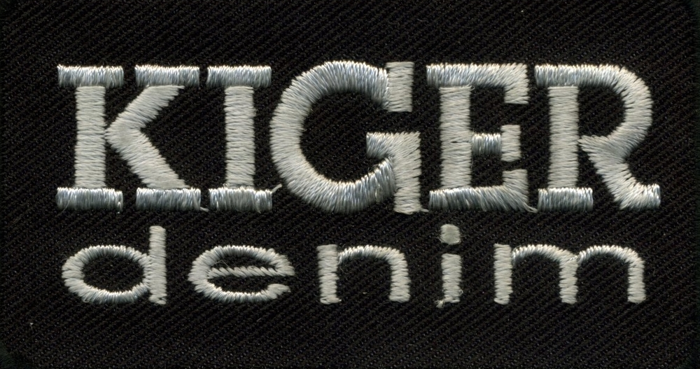 kiger denim label