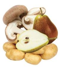 White/Brown Fruit & Vegetables