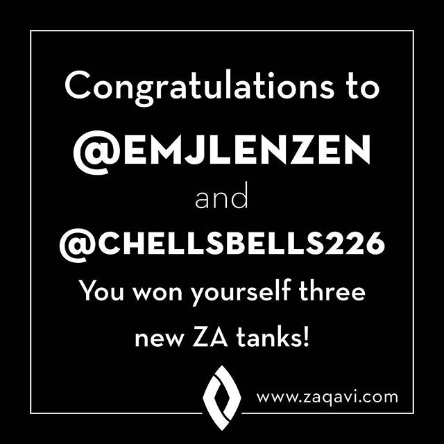 Thank all of you beautiful people for having so much fun with our tank giveaway!! We had a blast connecting with new people and old friends. 🤗 Congrats to Emily and Chelsey for being our winners this round! Stay tuned for more giveaways 💃🏼 www.zaqavi.com . . . #zaqavi #zaqaviapparel #zaqavilife #livelimitless #tanks #tops #summer #beach #sunsoutgunsout #crossfit #fit #fitlife #mermaid #mermaidlife #giveaway #denver #colorado #stpete #florida #tampa #clearwater #beachlife #sale #smallbiz #positivity #couplesinbusiness #giveawaycontest #giveaways