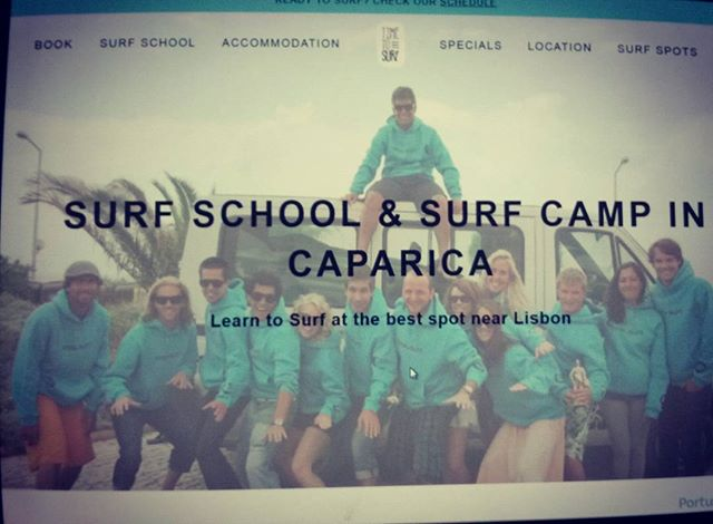 Brand new version of our website. Please check and feedback some! @timetosurf.pt #icanhavealifeagain #timetosurf #surfschool #costadacaparica