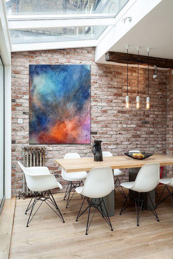 Celestial Odyssey in brick dining room.jpg