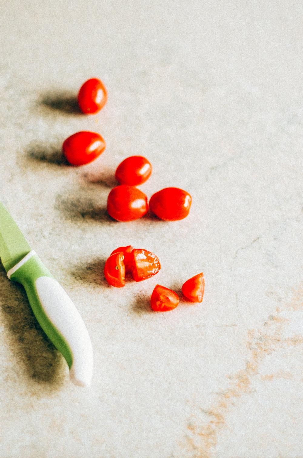 Aglio olio a simple italian pasta recipe that I've upgraded to include veggies & eggs! It's simply divine! thenomadicwife.com
