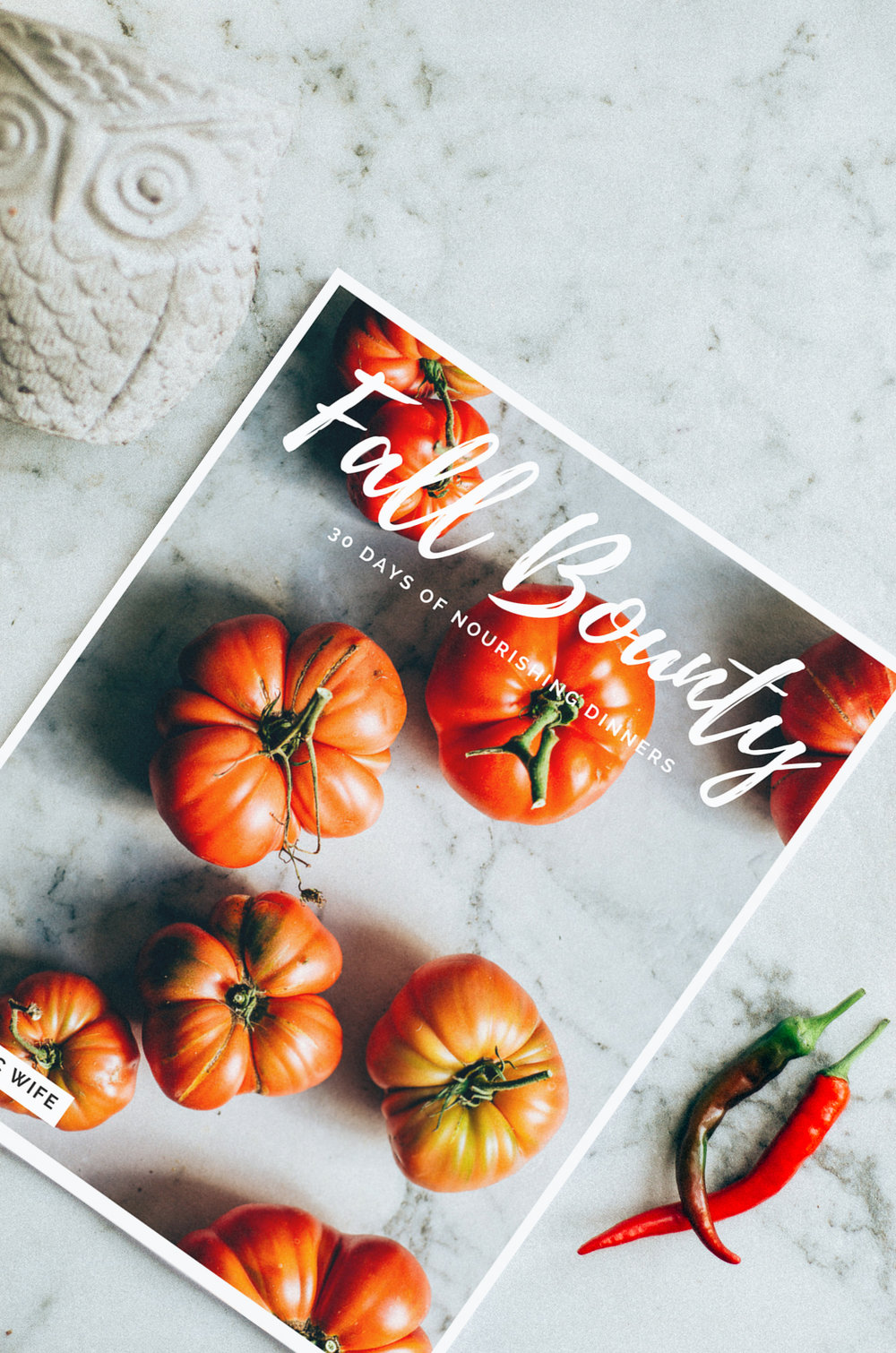 fall meal planning made easy - thenomadicwife.com