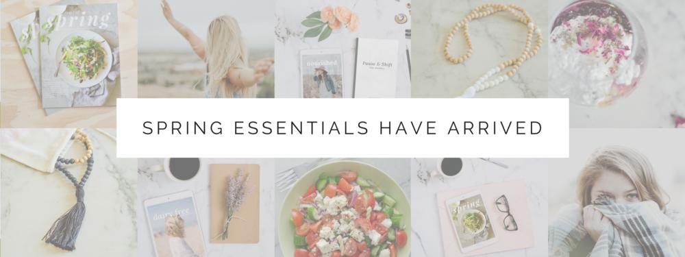 simple seasonal recipes, bullet journal & malas