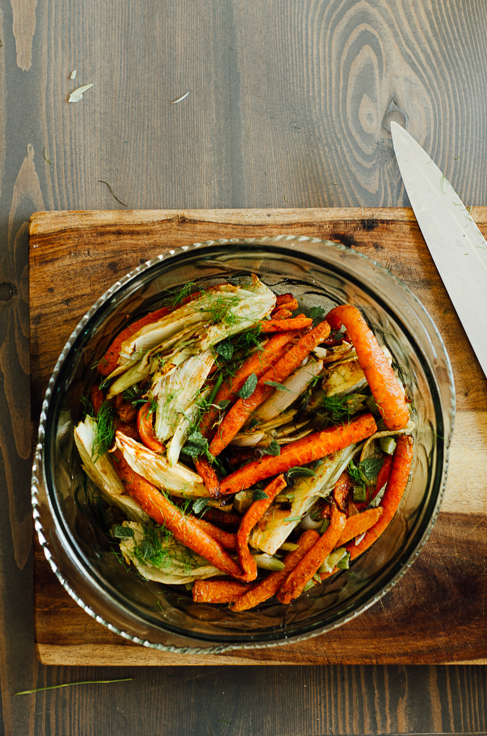 Simple roasted vegetable side dish | The Nomadic Wife