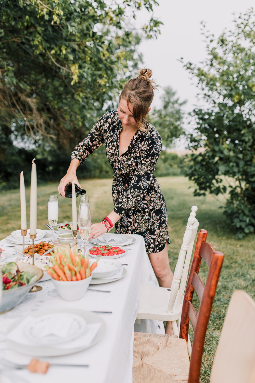 Aga of Herbologie | On farm dinner at Riverbend Gardens Alberta