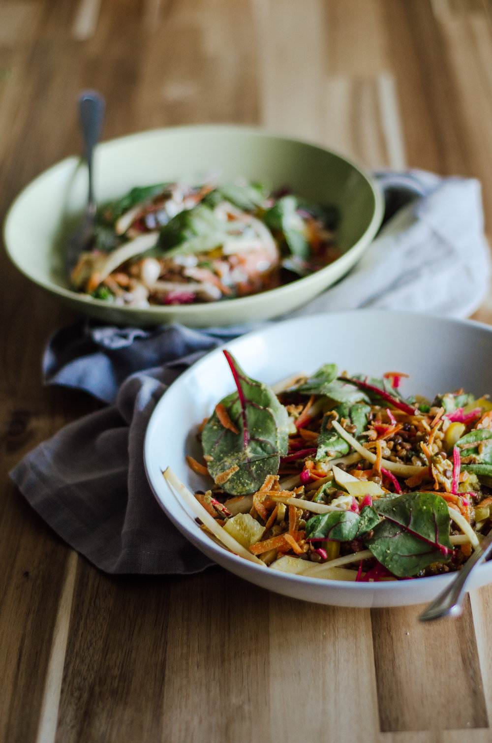 Bounty Bowl with Minty Labneh Sauce - The Nomadic Wife